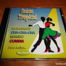CDs de Música: SALON TROPICAL MUSICA DE BAILES DE SALON CD ALBUM 1997 MAMBO MIX PEREZ PRADO CUMBIA MIX CHA-CHA-CHA . Lote 131574174