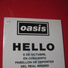 CDs de Música: OASIS - HELLO CD SINGLE PROMOCIONAL - CANCELADO. Lote 131584346