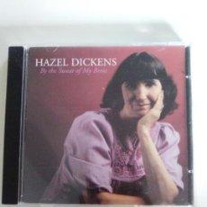 CDs de Música: HAZEL DICKENS BY THE SWEAT OF MY BROW ( 1999 ROUNDER RECORDS ) EXCELENTE ESTADO. Lote 131595486