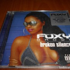 CDs de Música: FOXY BROWN-BROKEN SILENCE. Lote 131626910