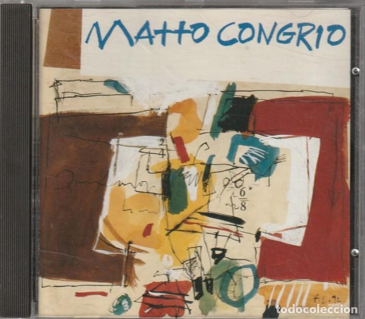 MATTO CONGRIO (CD LYRICON 1993) FOLK PROG GALLEGO · CARLOS NUÑEZ (Música - CD's World Music)