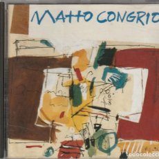 CDs de Música: MATTO CONGRIO (CD LYRICON 1993) FOLK PROG GALLEGO · CARLOS NUÑEZ. Lote 131631458