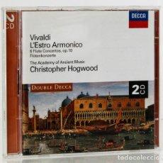 CD di Musica: VIVALDI, ANTONIO: L'ESTRO ARMONICO; 6 FLUTE CONCERTOS, ETC. (2 CDS) (DECCA) (CB). Lote 131635554