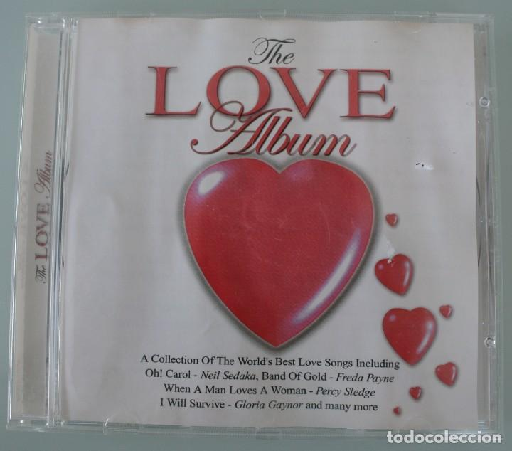 CD THE LOVE ALBUM – UNA RECOPILACION DE LAS MEJORES CANCIONES DE AMOR DEL MUNDO VEANSE TITULOS Y CAN (Música - CD's Melódica )