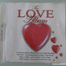 CDs de Música: CD THE LOVE ALBUM – UNA RECOPILACION DE LAS MEJORES CANCIONES DE AMOR DEL MUNDO VEANSE TITULOS Y CAN. Lote 131641626