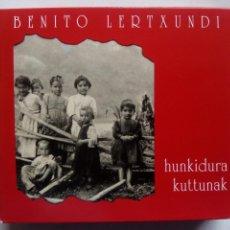 CDs de Música: BENITO LERTXUNDI. HUNKIDURA KUTTUNAK. BOX 2 CD'S ELKARLANEAN. ESPAÑA 1993. FOLK EUSKADI.. Lote 131654618