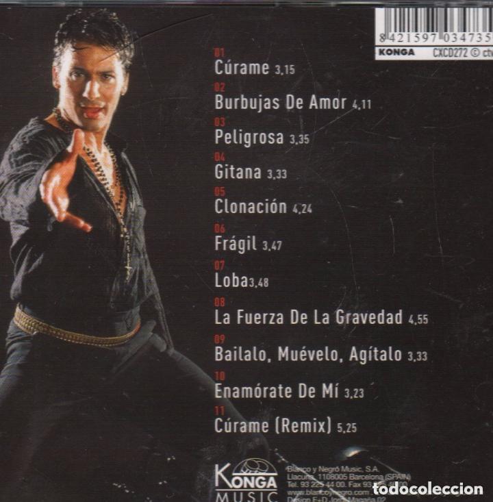 CDs de Música: JAVIER RIOS / CURAME / CD ALBUM , RF-1126, BUEN ESTADO - Foto 2 - 131668694