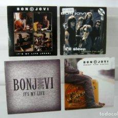 CDs de Música: LOTE 4 CD MONOGRAFICO BON JOVI . Lote 131686946