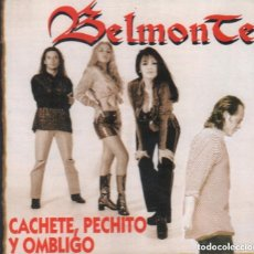 CDs de Música: BELMONTE - CACHETE , PECHITO Y OMBLIGO / CD ALBUM DE 1996 RF-1152 , BUEN ESTADO. Lote 131694566