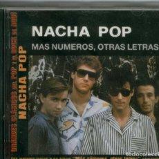 CDs de Música: NACHA POP, MÁS NÚMEROS, OTRAS LETRAS. Lote 131698958