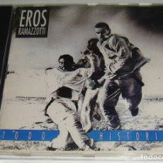CDs de Música: CD - EROS RAMAZZOTTI - TODO HISTORIAS - HECHO EN VENEZUELA - RAMAZZOTTI. Lote 131731054