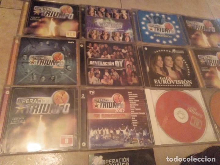 CDs de Música: LOTAZO 24 CDS OPERACION TRIUNFO MIRAR DESGLOSE EN INTERIOR - Foto 2 - 131743782