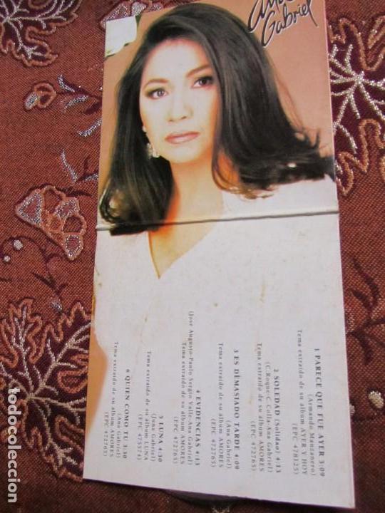 CDs de Música: ANA GABRIEL MAXI-CD- TITULO LO MEJOR- CON 6 TEMAS- ORIGINAL DEL 95- Y TOTALMENTE NUEVO - Foto 4 - 131749526