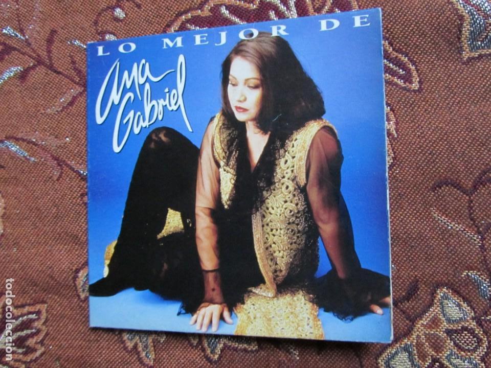 ANA GABRIEL MAXI-CD- TITULO LO MEJOR- CON 6 TEMAS- ORIGINAL DEL 95- Y TOTALMENTE NUEVO (Música - CD's Latina)