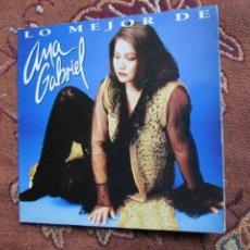 CDs de Música: ANA GABRIEL MAXI-CD- TITULO LO MEJOR- CON 6 TEMAS- ORIGINAL DEL 95- Y TOTALMENTE NUEVO. Lote 131749526