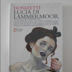 CDs de Música: LUCIA DI LAMMERMOOR. DONIZETTI. LIBRO CD. OPERA EN 2 COMPACTOS. EL PAIS. NUEVO A ESTRENAR.. Lote 131774854