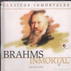 CDs de Música - BRAHMS INMORTAL - CLASICOS INMORTALES / CD GRUPO JOLY RF-1168 - 131779878