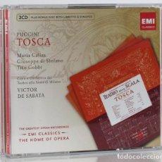 CDs de Música: PUCCINI, G.: TOSCA (2 CDS. + CDROM) (EMI) (CB). Lote 131780142