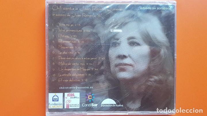 CDs de Música: CD DE CHILI. A JUAN RAMÓN JIMÉNEZ - Foto 2 - 131857030