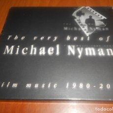CDs de Música: MICHAEL NYMAN-THE VERY BEST-2 CD-FILM MUSIC 1980-2001. Lote 131914258