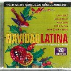 CDs de Música: CD NAVIDAD LATINA ( VILLANCICOS LUIS AGUILE CELIA CRUZ LUCHO GATICA EYDIE GORME LOS PANCHOS ETC. Lote 131929906