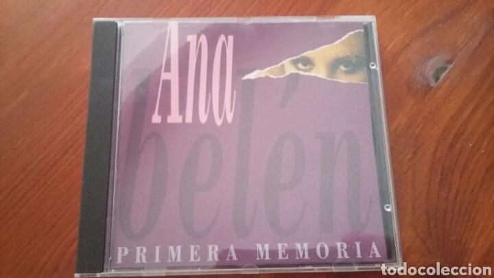 ANA BELÉN PRIMERA MEMORIA (Música - CD's Melódica )