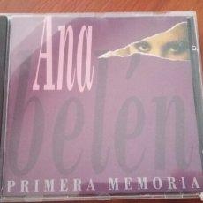 CDs de Música: ANA BELÉN PRIMERA MEMORIA. Lote 131937169