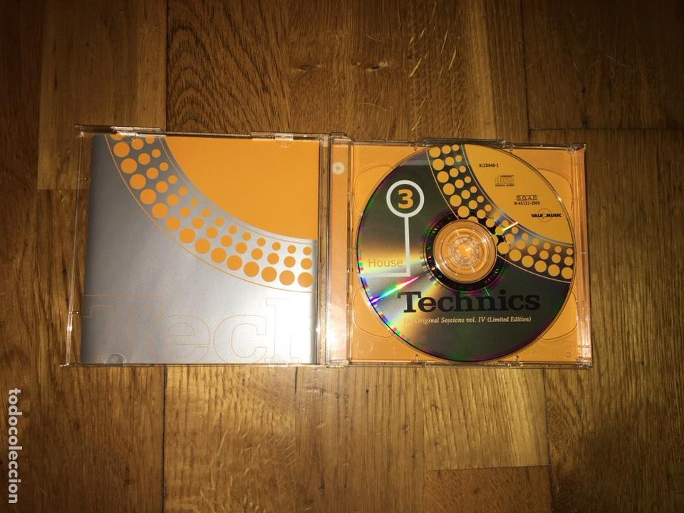 CDs de Música: Cd technics original sessions vol IV cd 3 y 4 - Foto 3 - 131953038