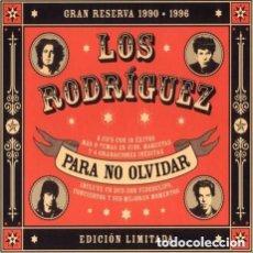 CDs de Música: LOS RODRIGUEZ PARA NO OLVIDAR 2 CD + DVD INEDITOS TEMAS INCLUIDOS. Lote 131975846
