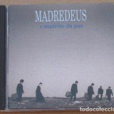 CDs de Música: MADREDEUS - O ESPIRITO DA PAZ (CD) 1994 - 15 TEMAS. Lote 132011146