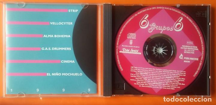 CDs de Música: JEREZ 6 GRUPOS 6 CD PROMOCIONAL 1999 ONZA (CINEMA) 2 TEMAS ROCK PROGRESIVO - Foto 2 - 132080362
