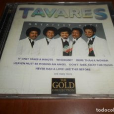 CDs de Música: CD TAVARES-GREATEST HITS-THE GOLD COLLECTION. Lote 132083230