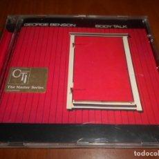 CDs de Música: CD GEORGE BENSON-BODY TALK. Lote 132083538
