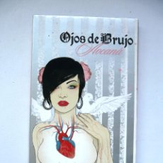CDs de Música: OJOS DE BRUJO - 2 CD + LIBRO - AOCANÁ - EDICIÓN ESPECIAL. Lote 132105774