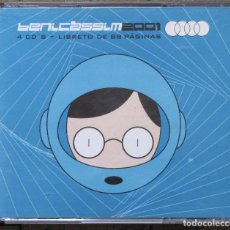CDs de Música: BENICASSIM 2001. 4 CDS.. Lote 132112246