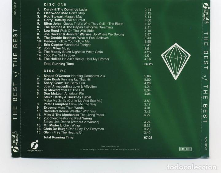 CDs de Música: Insight Music THE BEST OF THE BEST 2CDS - Foto 2 - 132116542