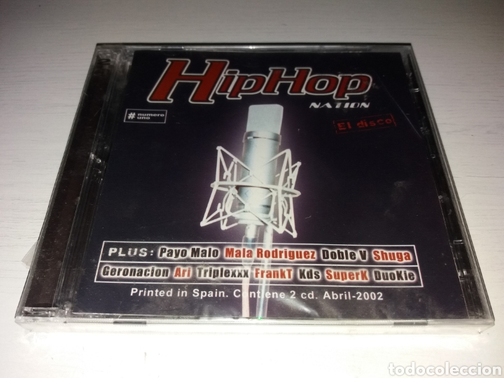 CD HIP HOP NATION - EL DISCO - SIN DESPRESINTAR (Música - CD's Hip hop)