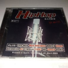 CDs de Música: CD HIP HOP NATION - EL DISCO - SIN DESPRESINTAR. Lote 189220673