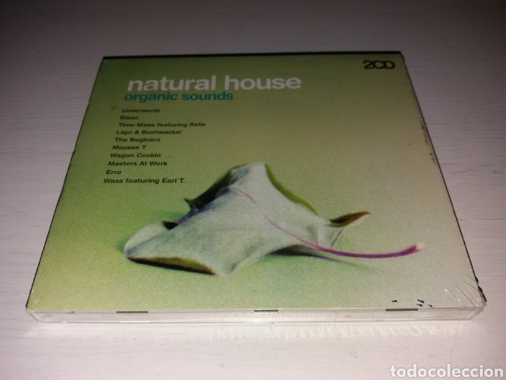 CD NATURAL HOUSE - ORGANIC SOUNDS - NUEVO SIN DESPRESINTAR (Música - CD's Disco y Dance)