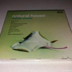CDs de Música: CD NATURAL HOUSE - ORGANIC SOUNDS - NUEVO SIN DESPRESINTAR. Lote 132121447