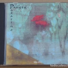 CDs de Música: PAXARIÑO - PANGEA (CD) 1992 - 11 TEMAS - MSF CD-004. Lote 132135714