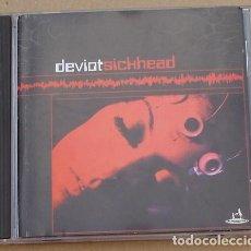 CDs de Música: DEVIOT - SICKHEAD (CD) 1999 - 12 TEMAS - SUBTERFUGE. Lote 132141926