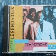 CDs de Música: TEMPTATIONS. VOCES LEGENDARIAS ABC. Lote 132160070