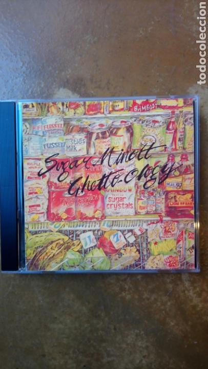 SUGAR MINOTT / BLACK ROOTS PLAYERS. GHETTO-OLOGY & DUBWISE - CD PERFECTO ESTADO (Música - CD's Reggae)
