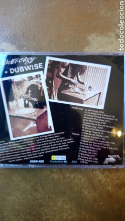 CDs de Música: Sugar minott / Black roots players. Ghetto-ology & dubwise - CD perfecto estado - Foto 2 - 132168247