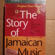 CDs de Música: THE STORY OF JAMAICAN MUSIC TOUGHER THAN TOUGH PRECINTADO EDICIÓN LIMITADA NUMERADA. Lote 132176102