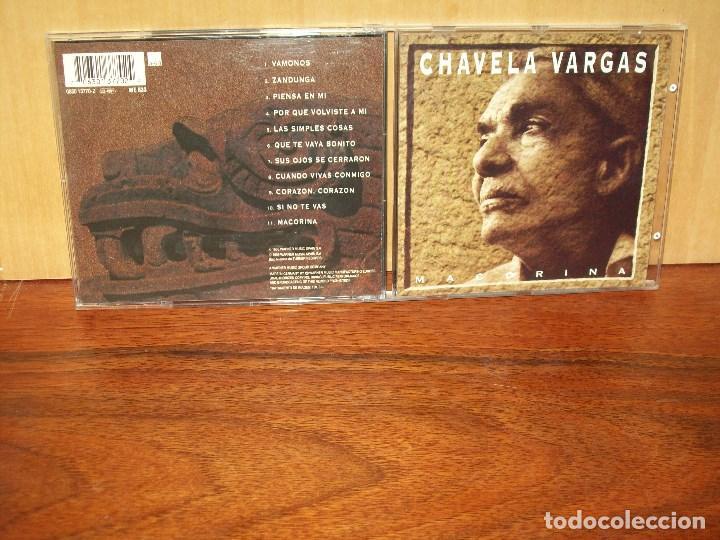 CHAVELA VARGAS - MACORINA - CD (Música - CD's Latina)