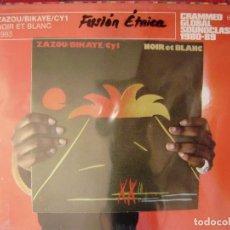 CDs de Música: ZAZOU-BIKAYE-CY1.NOIR ET BLANC..ELECTRONICA 1980-1989...PRECINTADO. Lote 132209782