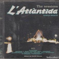 CDs de Música: L'ATLANTIDA DISCO BEACH SITGES DOBLE CD THE SESSIONS DAVID GAUSA 1998. Lote 132228838