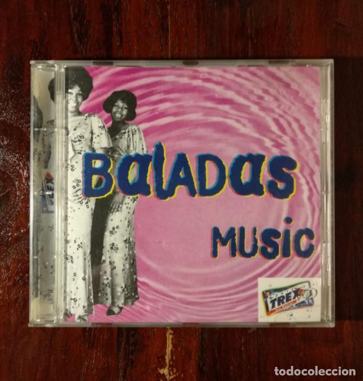 THE BEST OF TREX BALADAS - CD PROMOCIONAL DE ANTIGUOS CHICLES TREX - BALADAS MUSIC (Música - CD's Otros Estilos)
